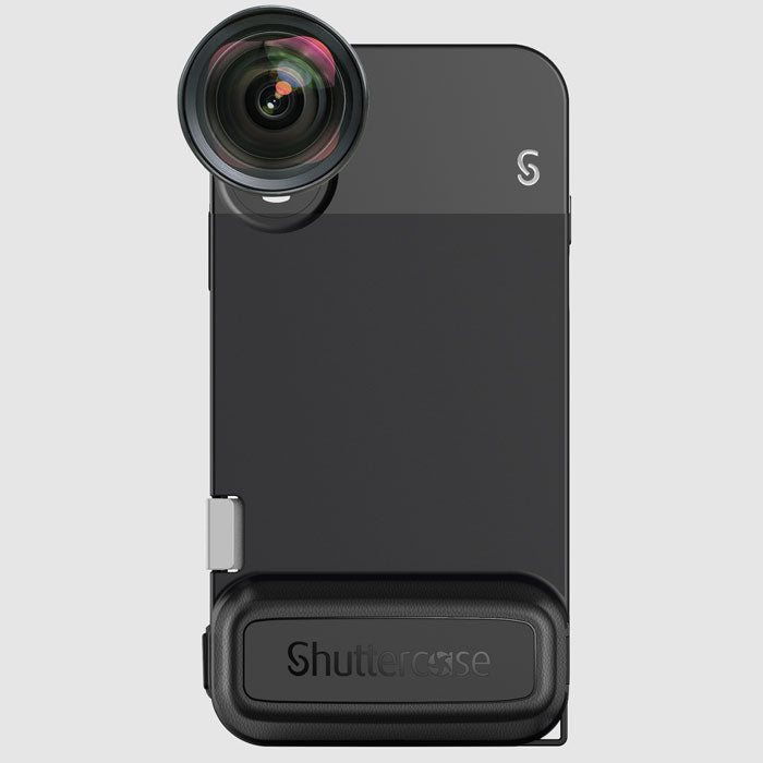 Shuttercase with Moment Lens Interface for iPhone XS/X