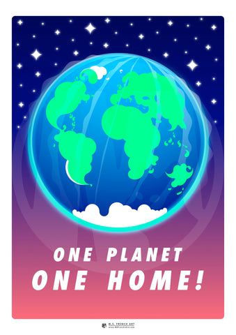 One Planet, One Home!
