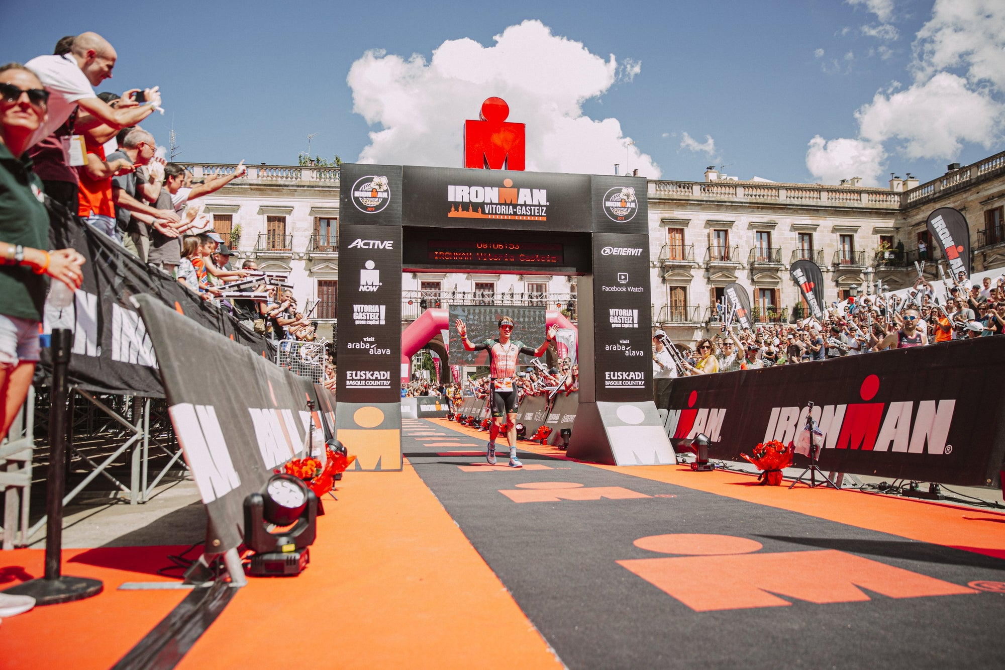 Josh Amberger Reports on his 2nd place at Ironman Vitoria 2019