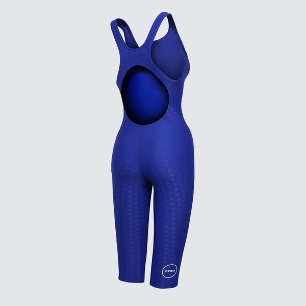 FINA Approved Women's Kneeskin -  Performance Speed back