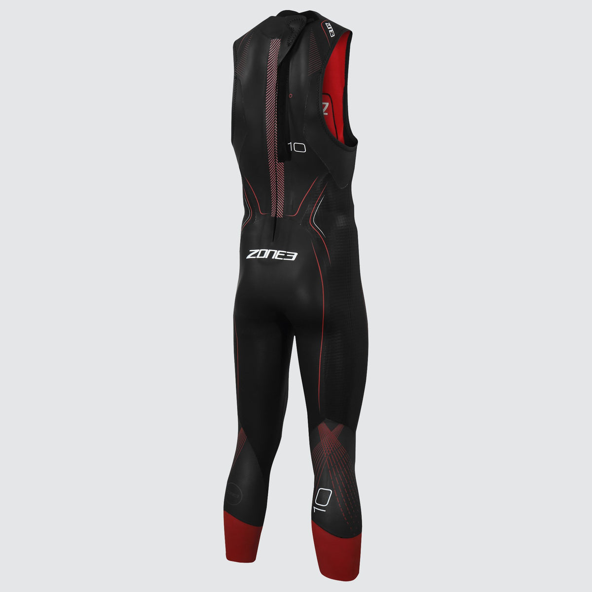 Men's Sleeveless Aspire Wetsuit back