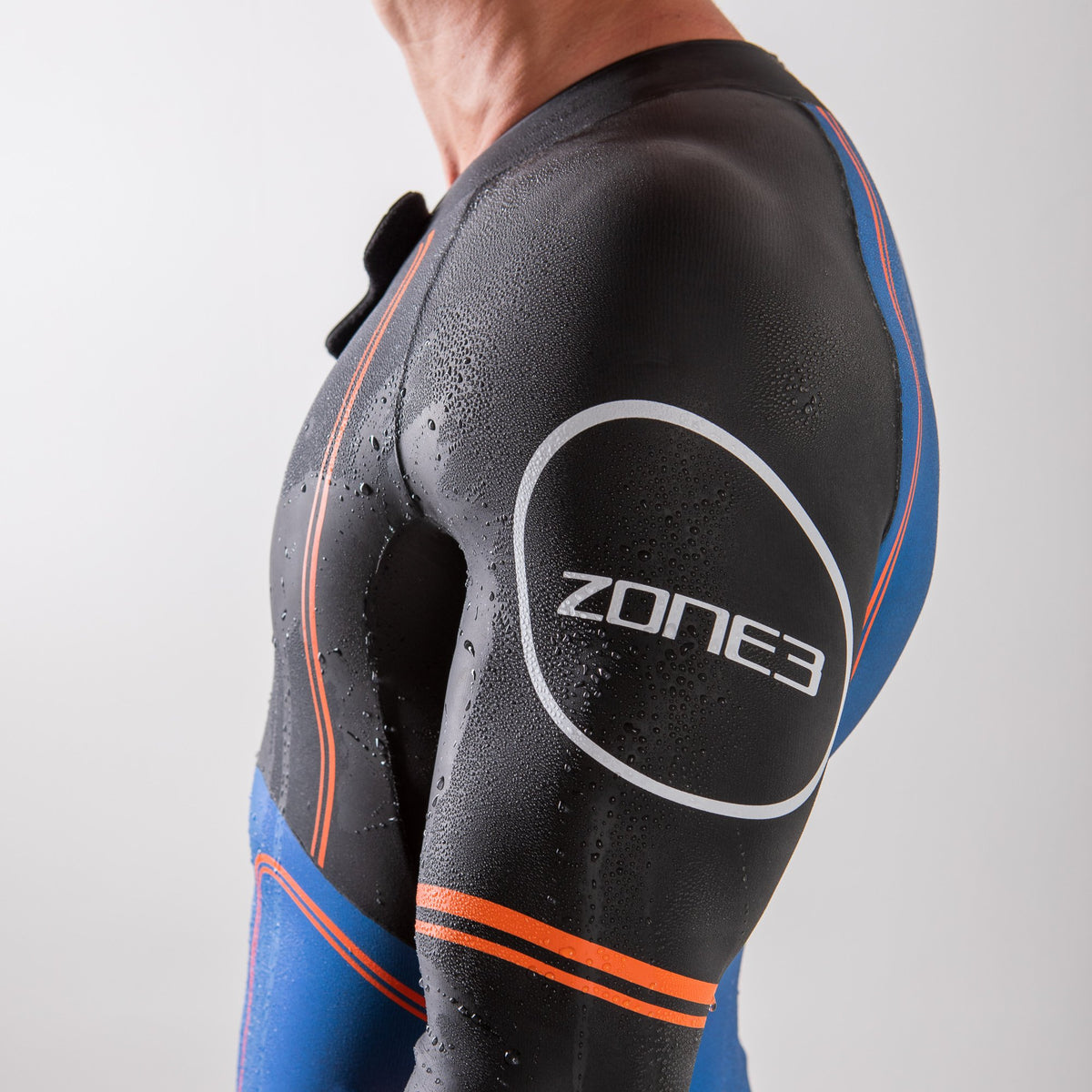 Men's Swim-Run Evolution Wetsuit with 8mm Calf Sleeves arm