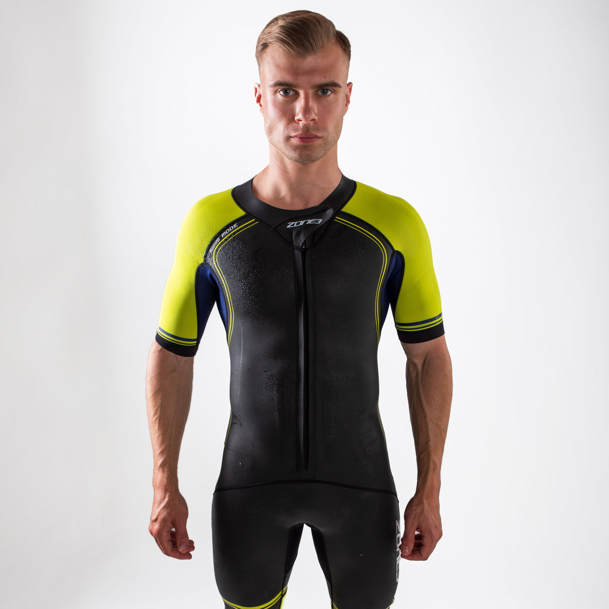 Men's Swim-Run Versa Wetsuit pose