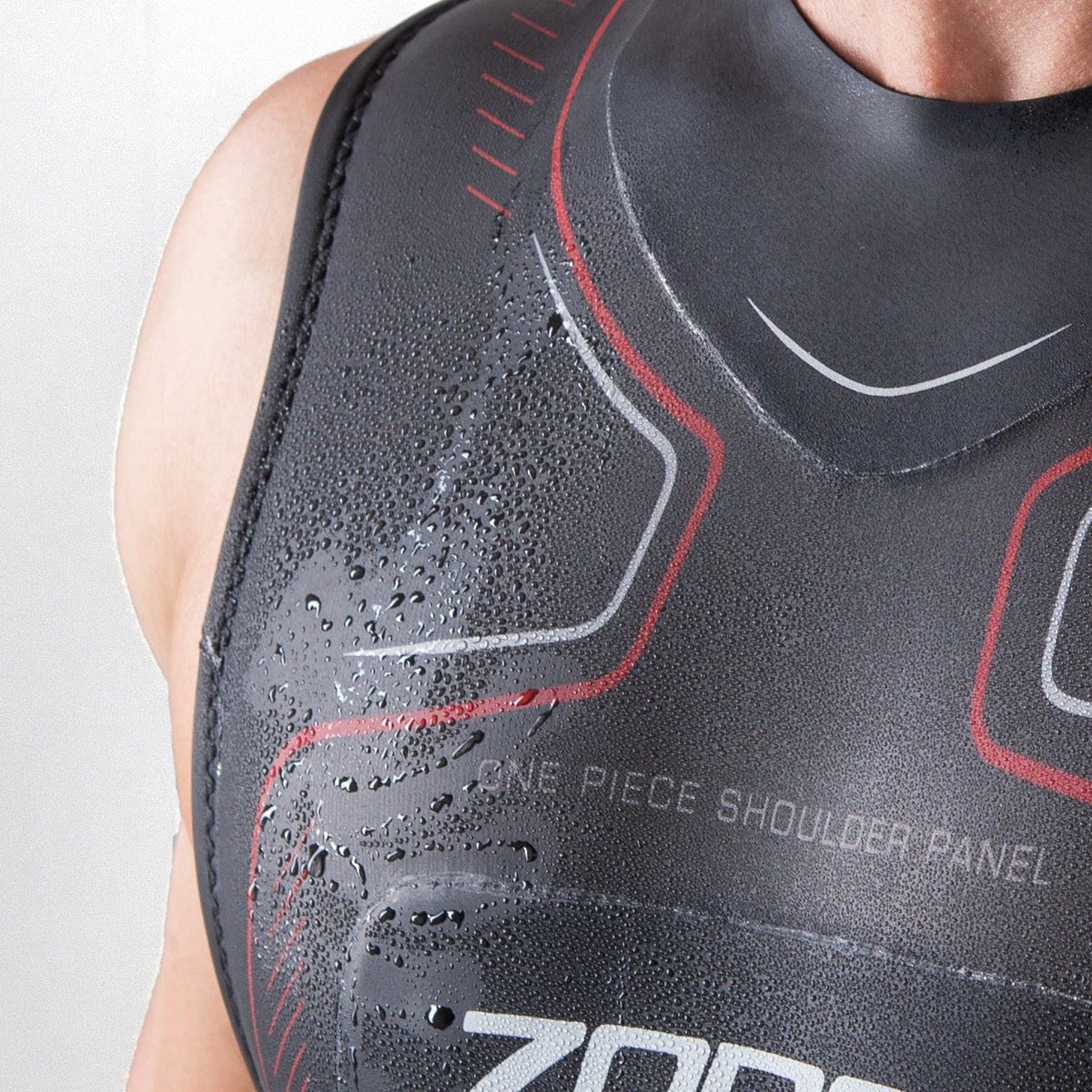 Men's Sleeveless Aspire Wetsuit chest