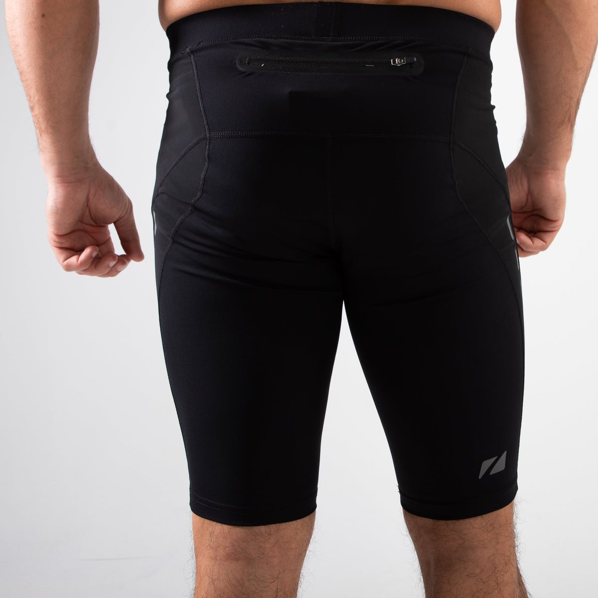 Men's RX3 Medical Grade Compression Shorts back leg