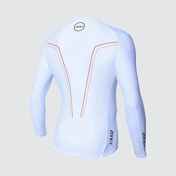 Men's Lava Aero 3/4 Sleeve Warmth Top back