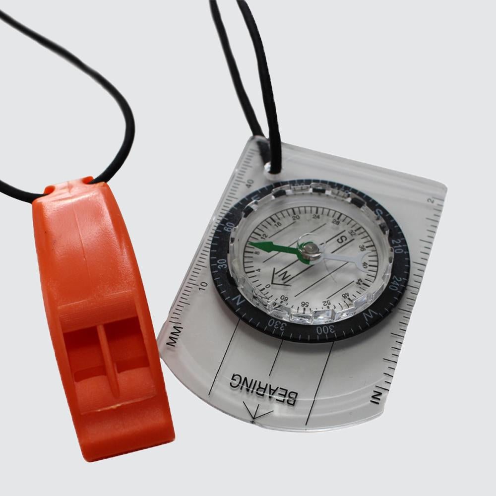 Swim-Run Compass and Whistle Bungee Combo