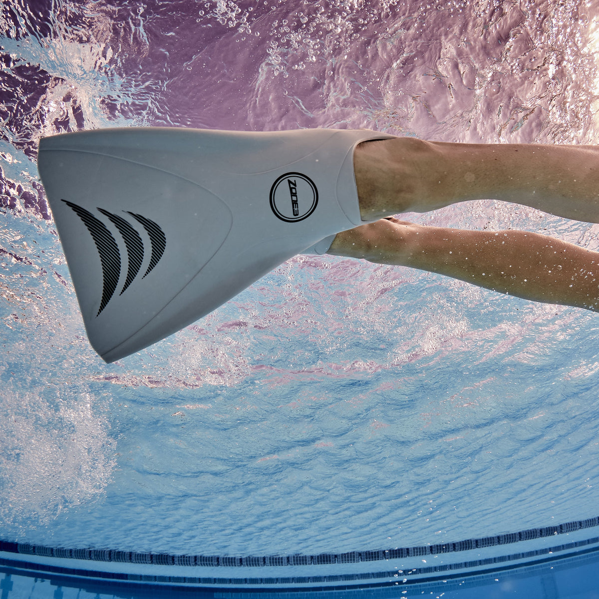 Silicone V-FLEX Ergo Swim Training Training Fins swim
