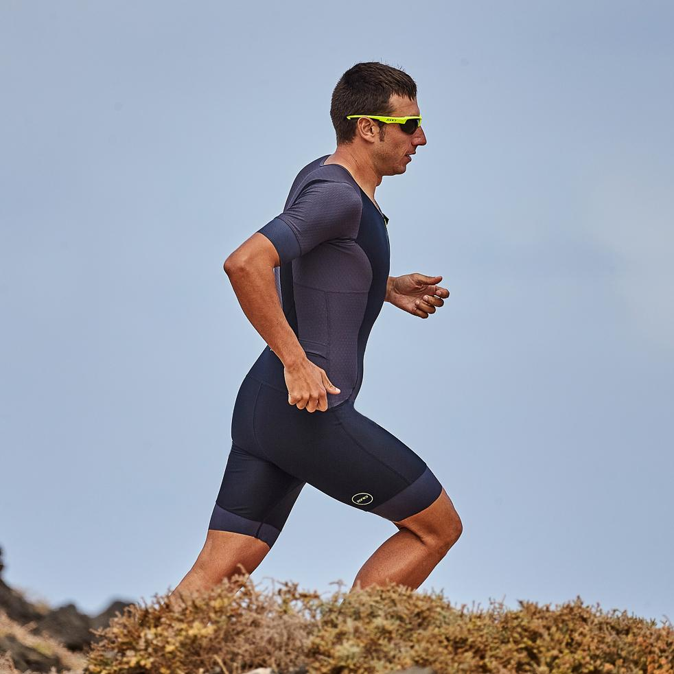 Men's Aquaflo Plus Tri Top Short Sleeve run