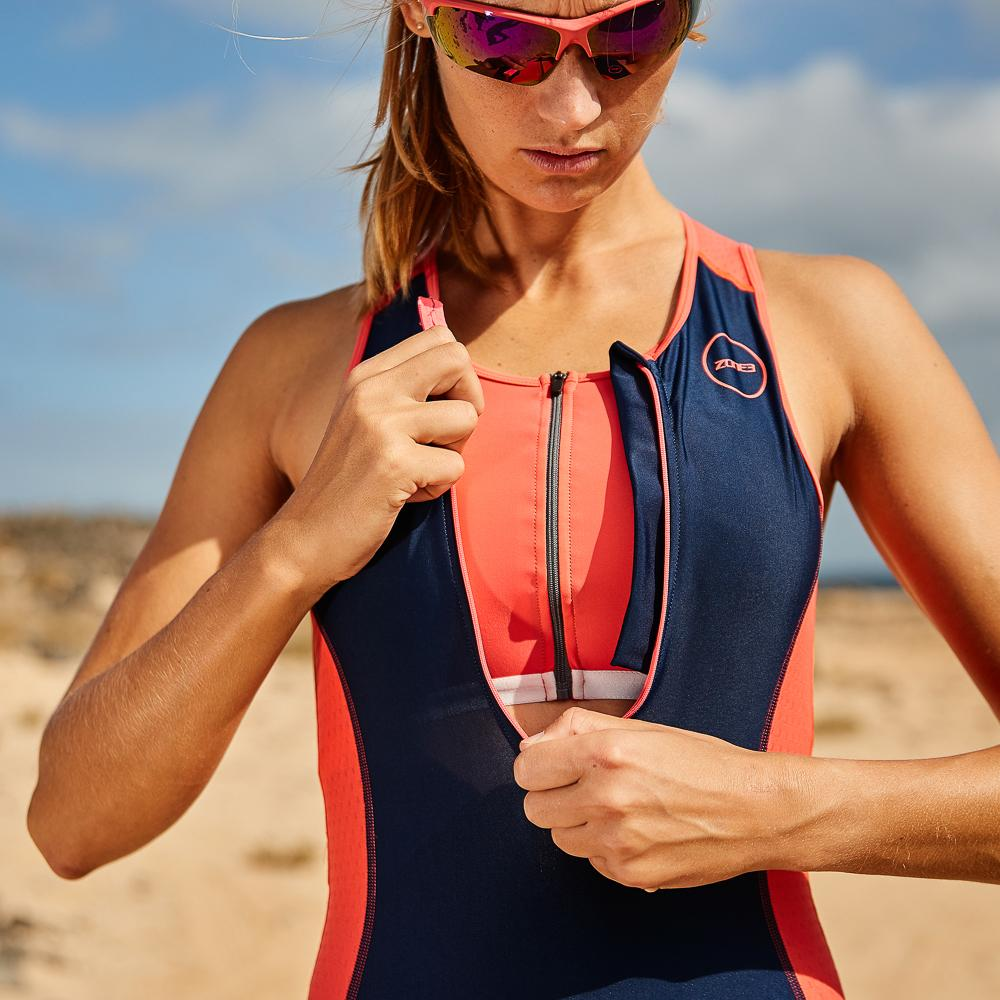 Women's Aquaflo Plus Trisuit zip