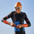 Men's Swim-Run Evolution Wetsuit with 8mm Calf Sleeves pose