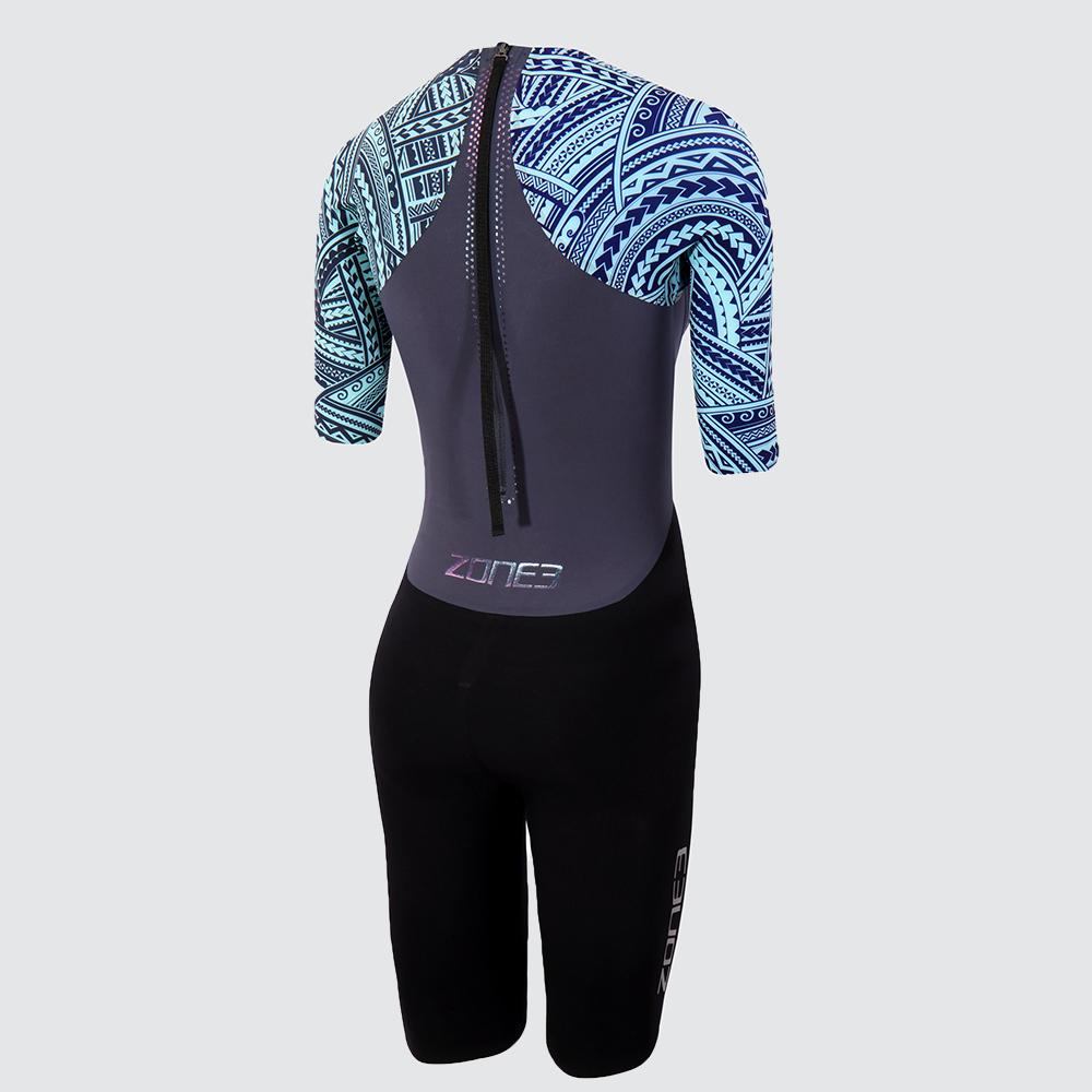 Women's Kona Target Short Sleeve Swimskin back