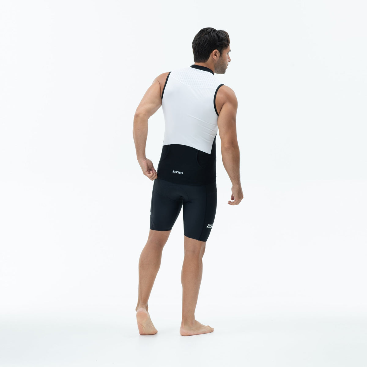 Men's Lava Long Distance Sleeveless Tri Top