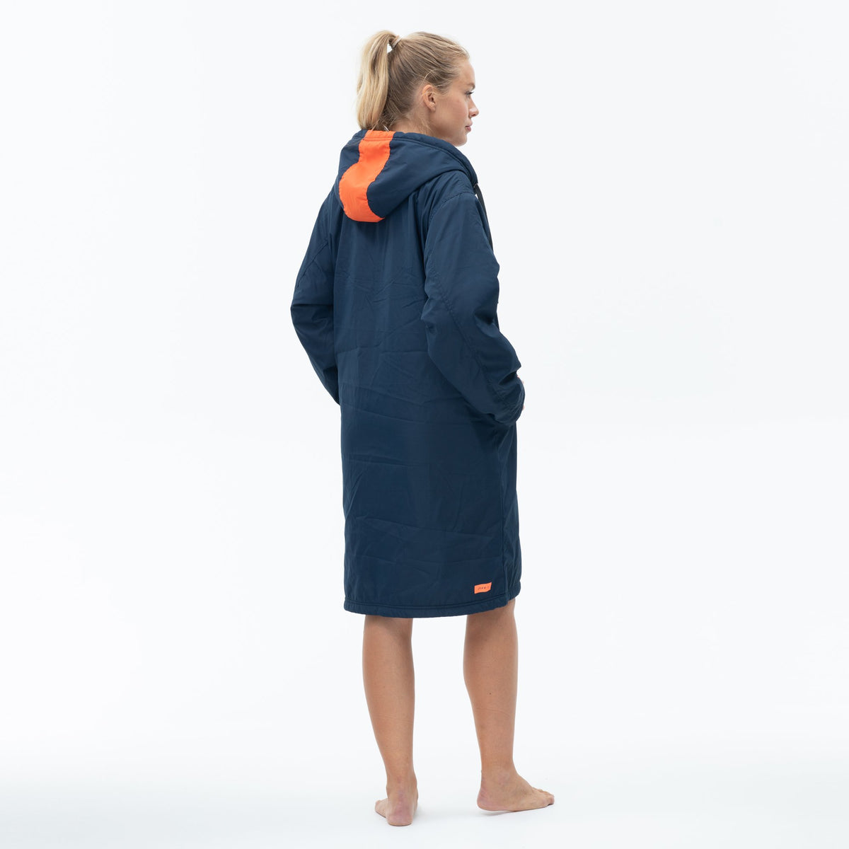 Polar Fleece Parka Robe Jacket