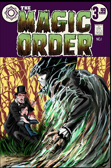 Magic Order #1 Port City Comics Exclusive Variant by Josh Brannan