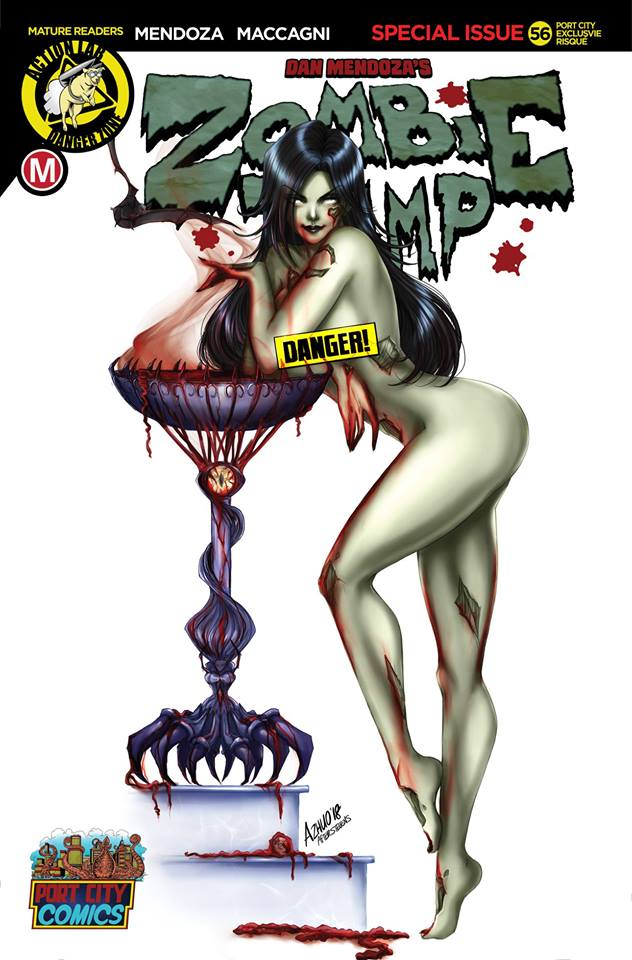 Zombie Tramp 56 Anna Zhuo Variant Set Port City Comics Exclusive