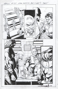 Venom #155 page 3 Mark Bagley Pencils with John Dell Inks