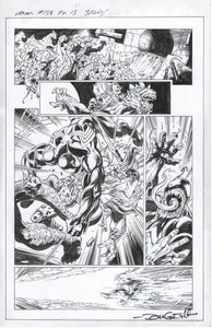 Venom #158 page 13 Mark Bagley Pencils with John Dell Inks