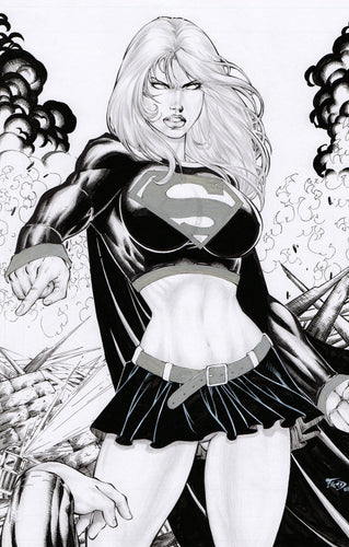 Supergirl by Fred Benes - 2008