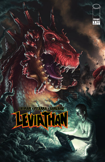 Leviathan #1 Port City Comics Exclusive Variant by WADE ACUFF