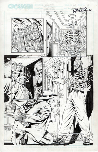 Mystic #25 page 5 Al Rio Pencils with Roland Paris Inks