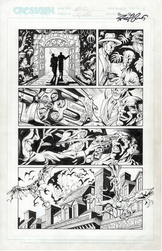 Mystic #25 page 7 Al Rio Pencils with Roland Paris Inks