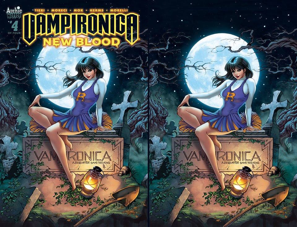 Vampironica 4 Anna Zhuo Exclusive Variant Set Regular and Virgin Covers (PREORDER)