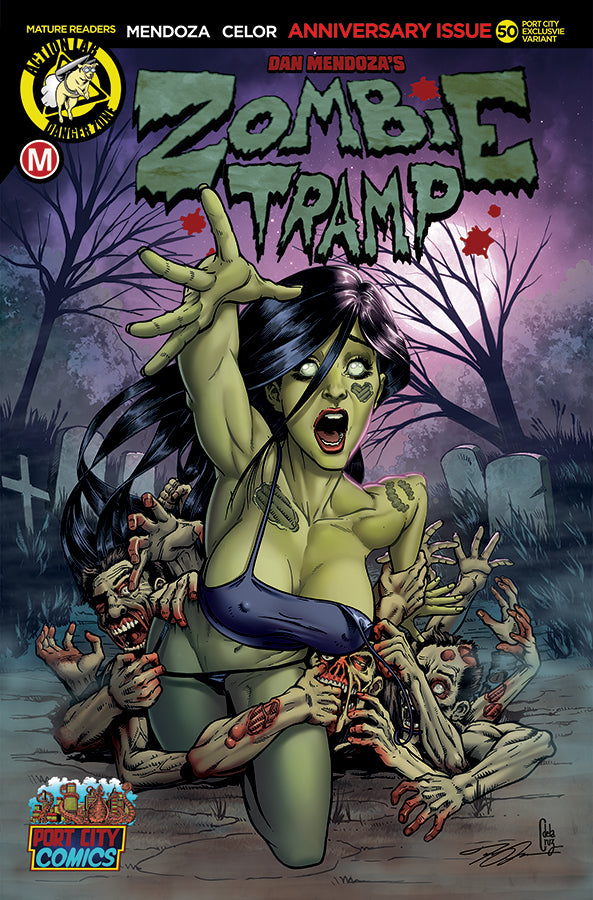 Zombie Tramp #50 JOEL ADAMS Exclusive Variant Regular Cover