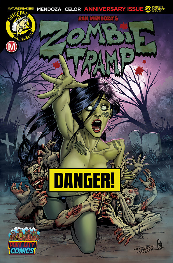 Zombie Tramp #50 JOEL ADAMS Exclusive Variant Risque Cover