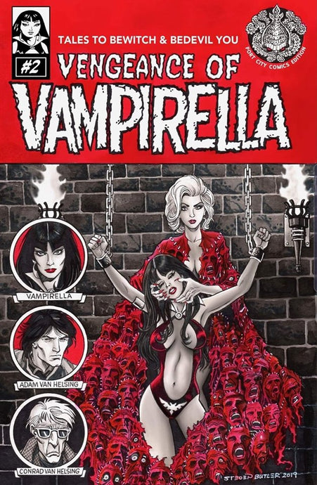 Vengeance of Vampirella 2 Steven Butler Virgin Variant Port City Comics Exclusive (Pre-order)