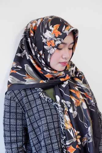 Premium Silk Square Hijab | YELENA.PH