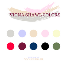 Viona Long Shawl Hijab | YELENA.PH