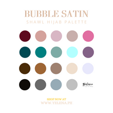 Bubble Satin Hijab