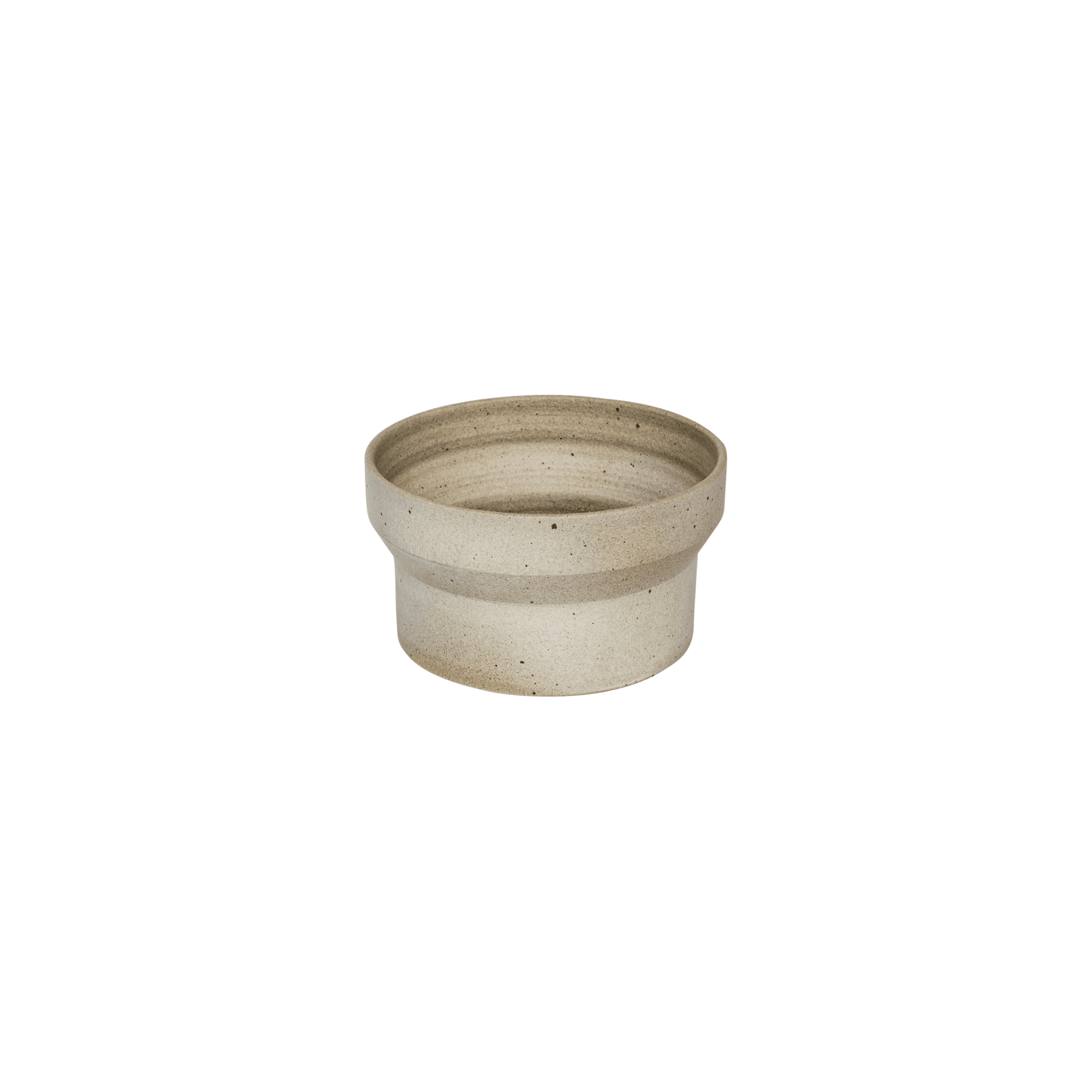 Funnel Low Pot by Anchor Ceramics