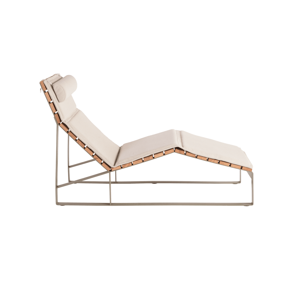 Seat Pad & Headrest for Ribbon Chaise