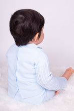 Load image into Gallery viewer, Baby Blue Boys Knitted Lounge Set