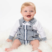 Load image into Gallery viewer, Boys Traditional Romper With Matching Shirt