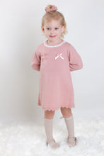 Load image into Gallery viewer, Dusky Pink Fine Knit Dress By Bluesbaby