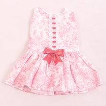 Load image into Gallery viewer, Pink Spanish Dress With Pink Ribbon And Bow