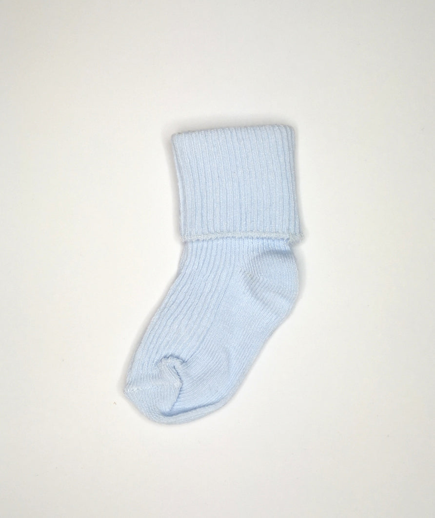 Blue Ankle Sock