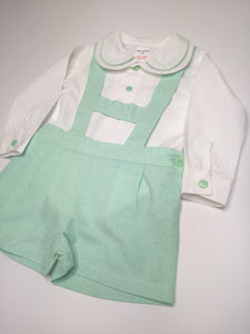 Mint Green H-Bar And Shirt Set