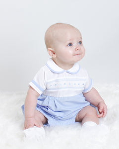 Spanish Romper With Smocking