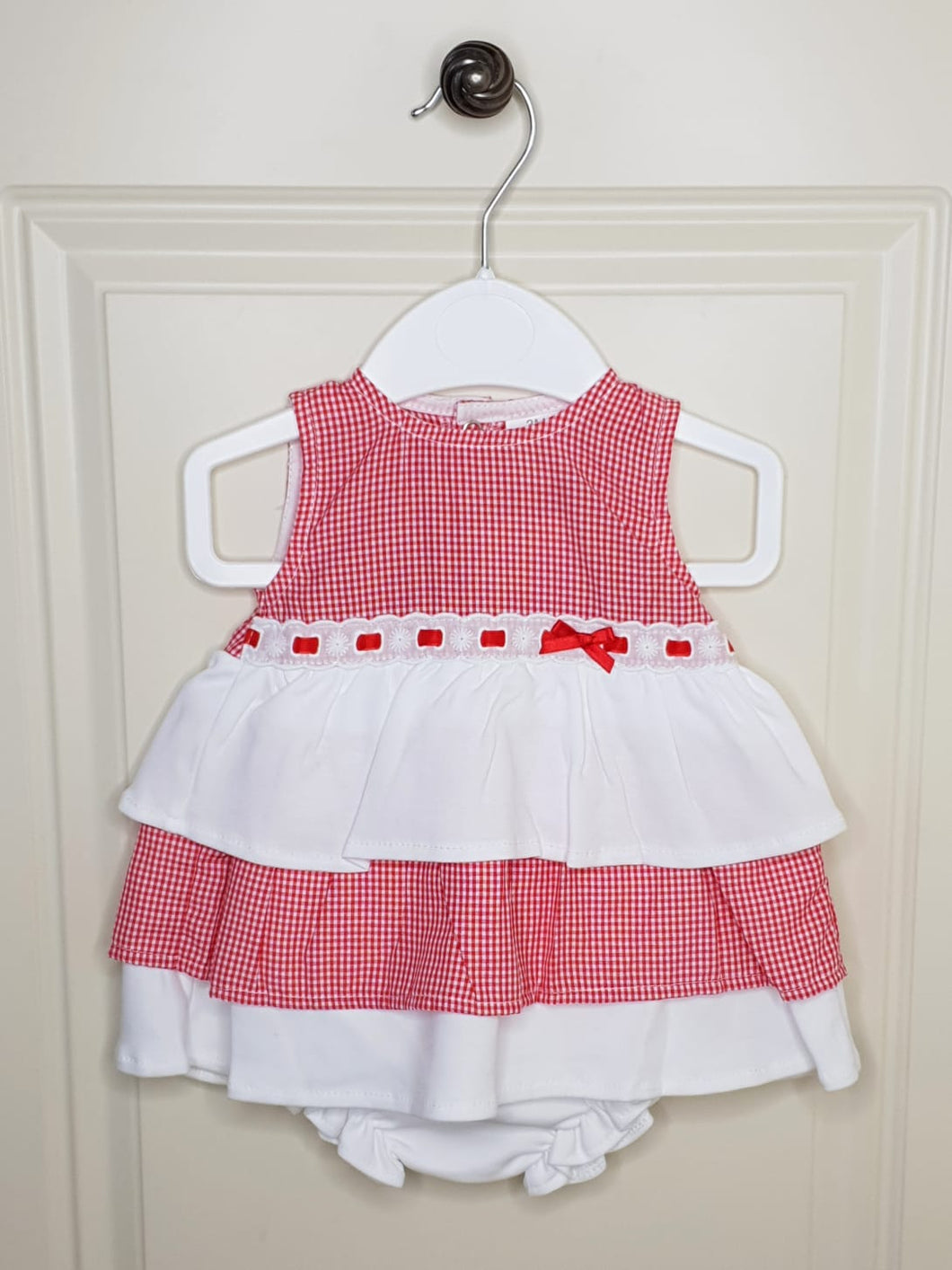 Spanish Layered Dress With Bloomers