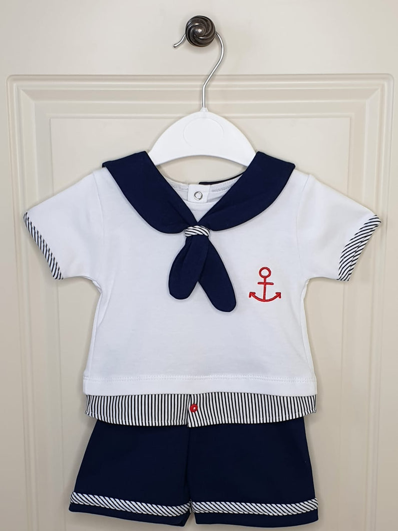 Baby Boys Sailor Outfit
