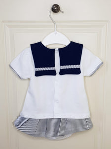 Baby Girls Sailor Outfit