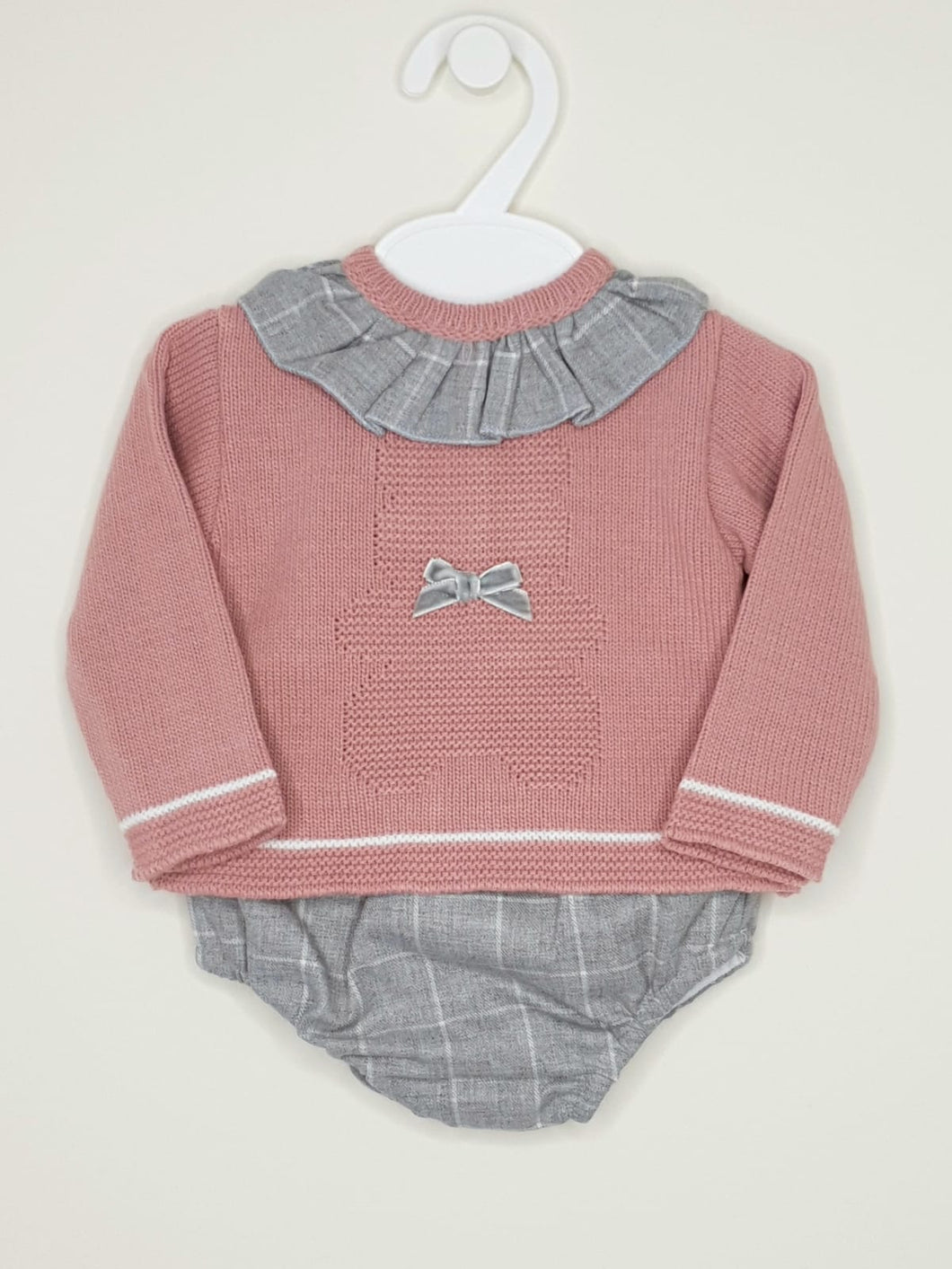 Baby Girls Teddy 2 Piece With Jumper And Jam Pants