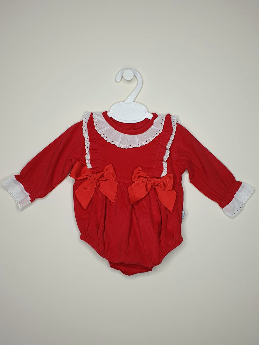 Portuguese Girls Romper With Ribbon And Lace
