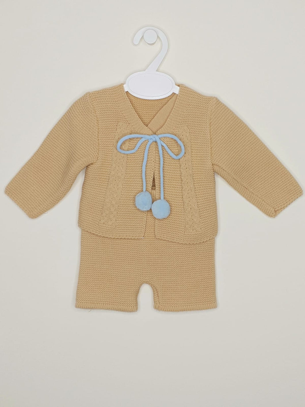 Portuguese Boys H-Bar Knitted Outfit