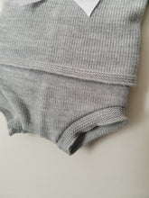Load image into Gallery viewer, Grey Spanish Knit 2 Piece Set