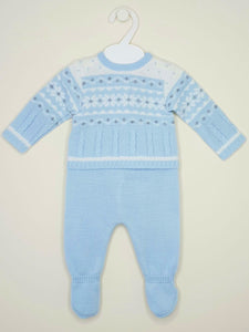 Boys Knitted Winter Wonderland 2 Piece Outfit